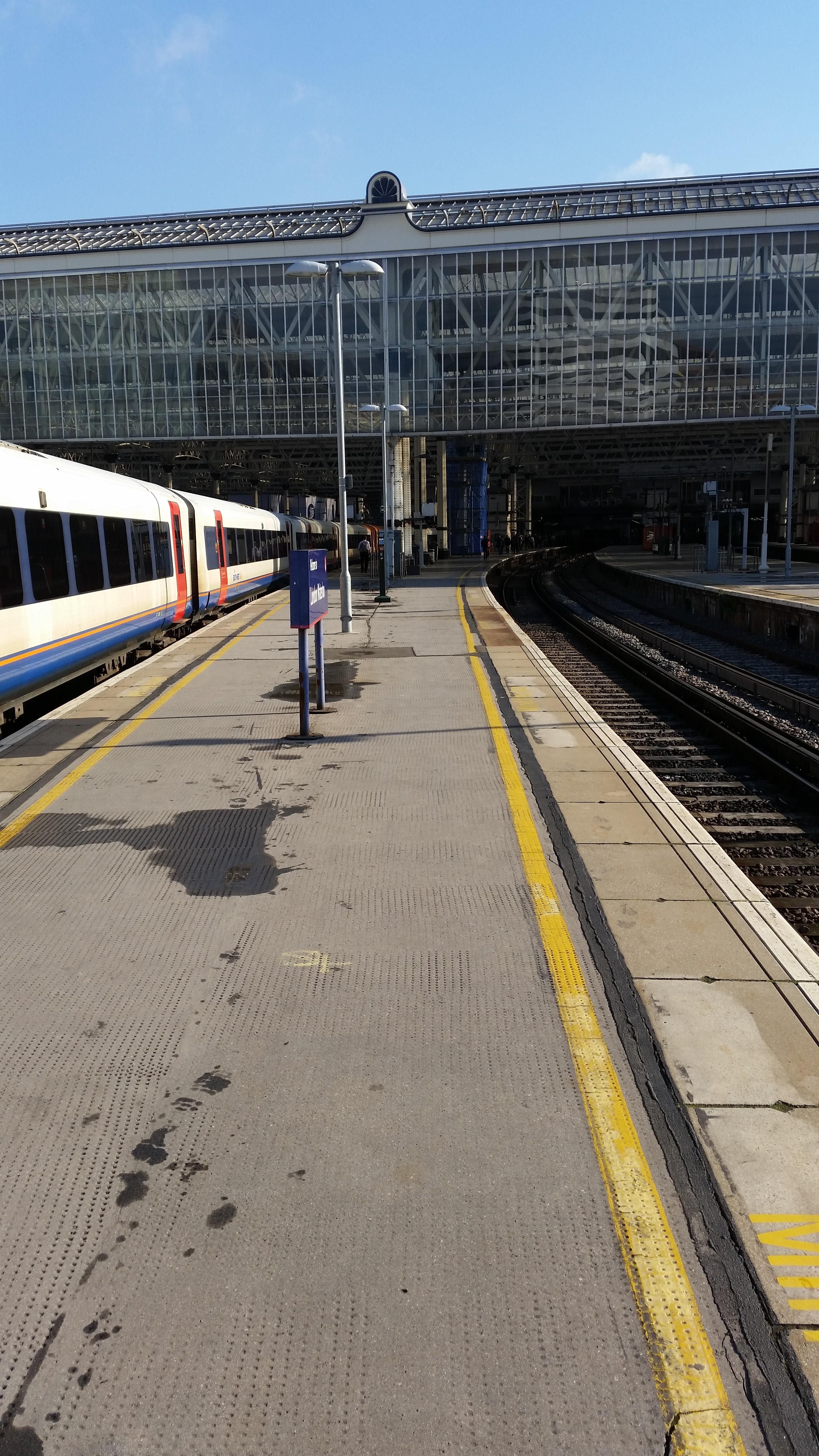 Waterloo platform